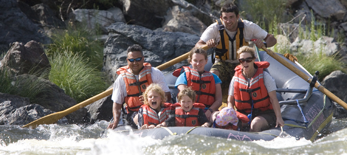 Marble Mountain Ranch river rafting