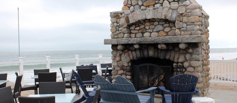Andrea Seaside Restaurant and Beach Bar on Misquamicut Beach
