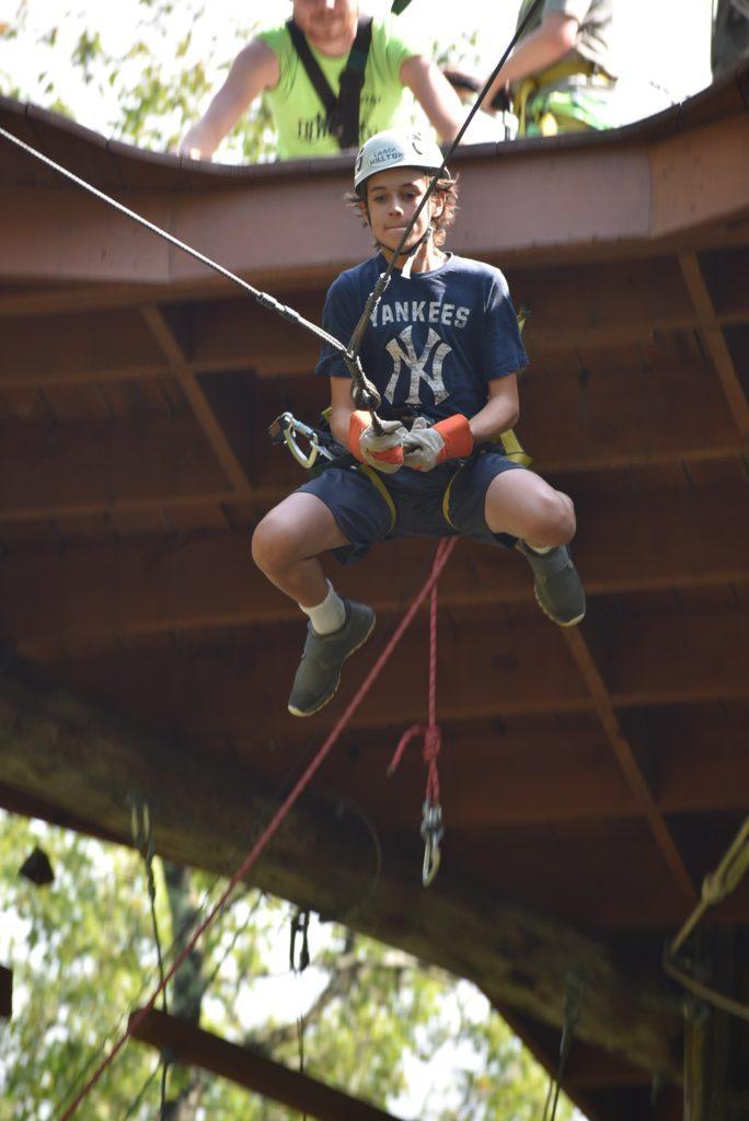 Camp Hilltop Zipline
