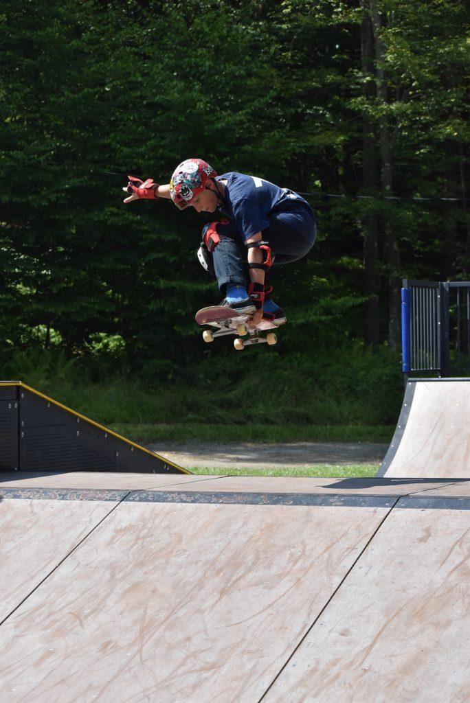 Camp Hilltop Skateboarding