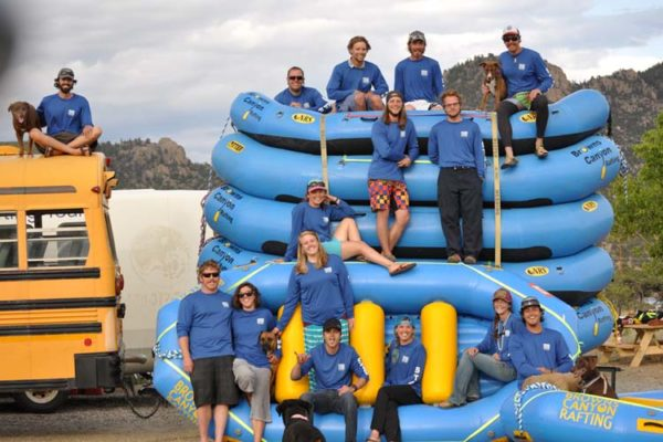 Browns Canyon Rafting employees