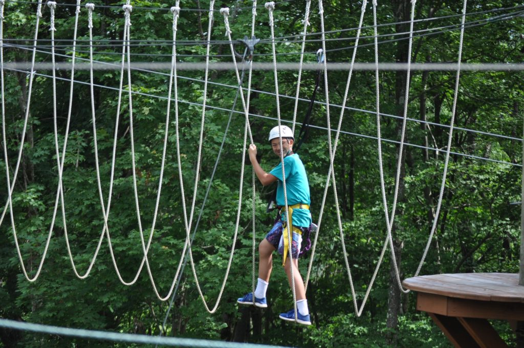 Camp Hilltop Ropes Course
