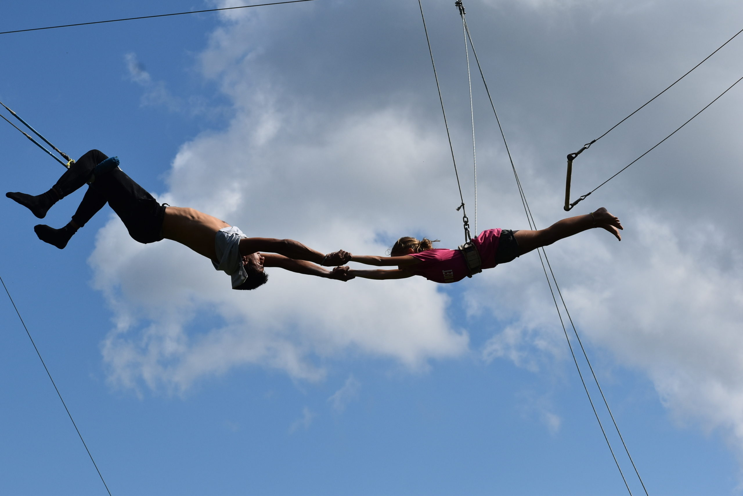 Camp Hilltop - Trapeze