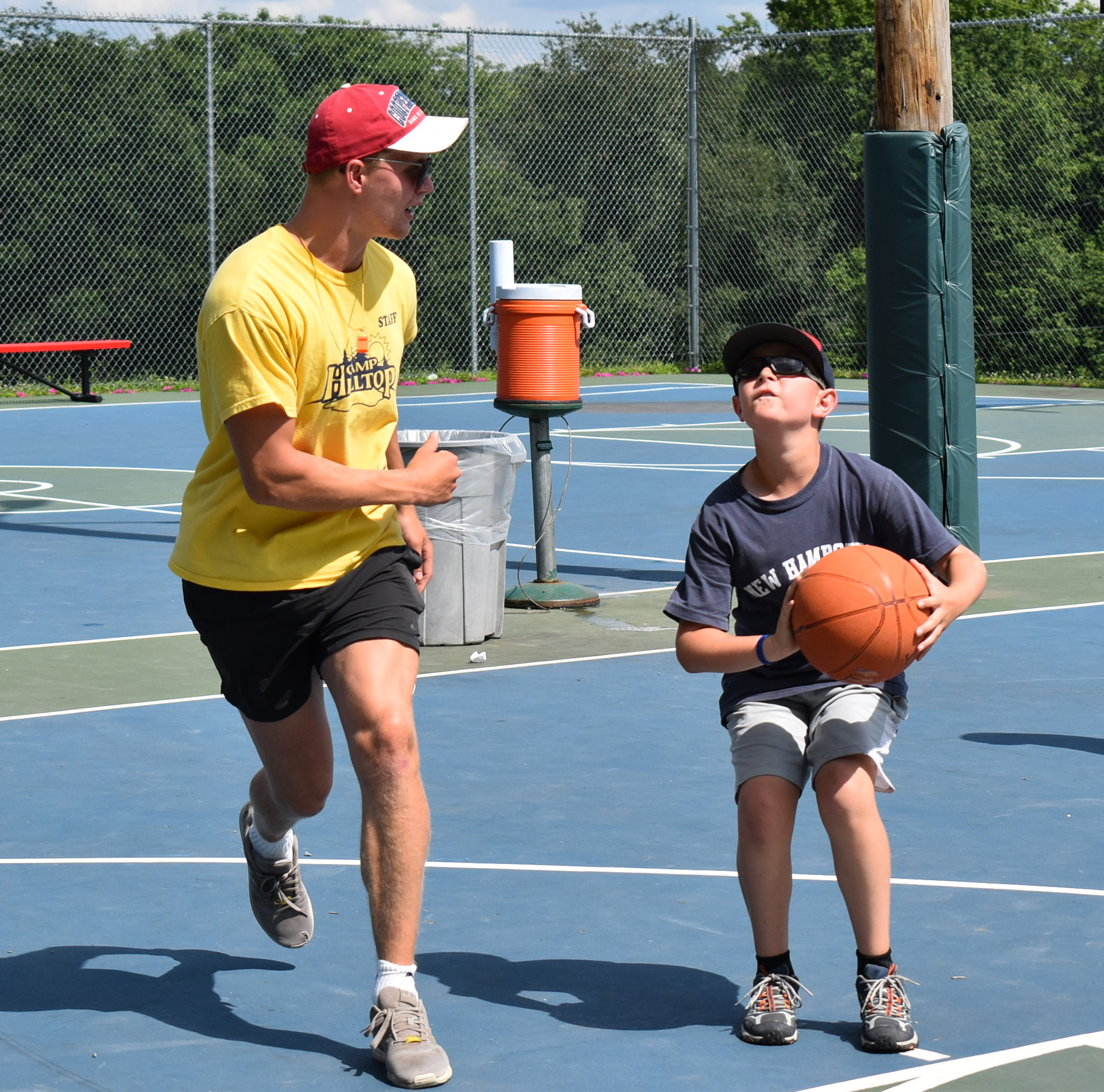 Camp Hilltop - Basketball