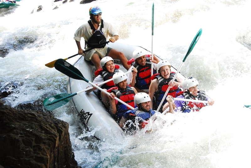 High Country Adventures Whitewater Rafting