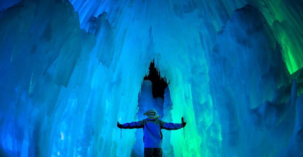 Ice Castles inside