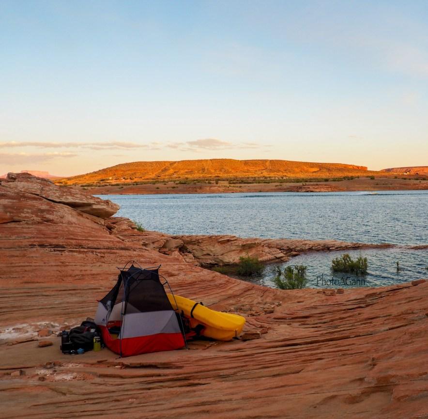 Lake Powell Paddleboards and Kayaks Camping