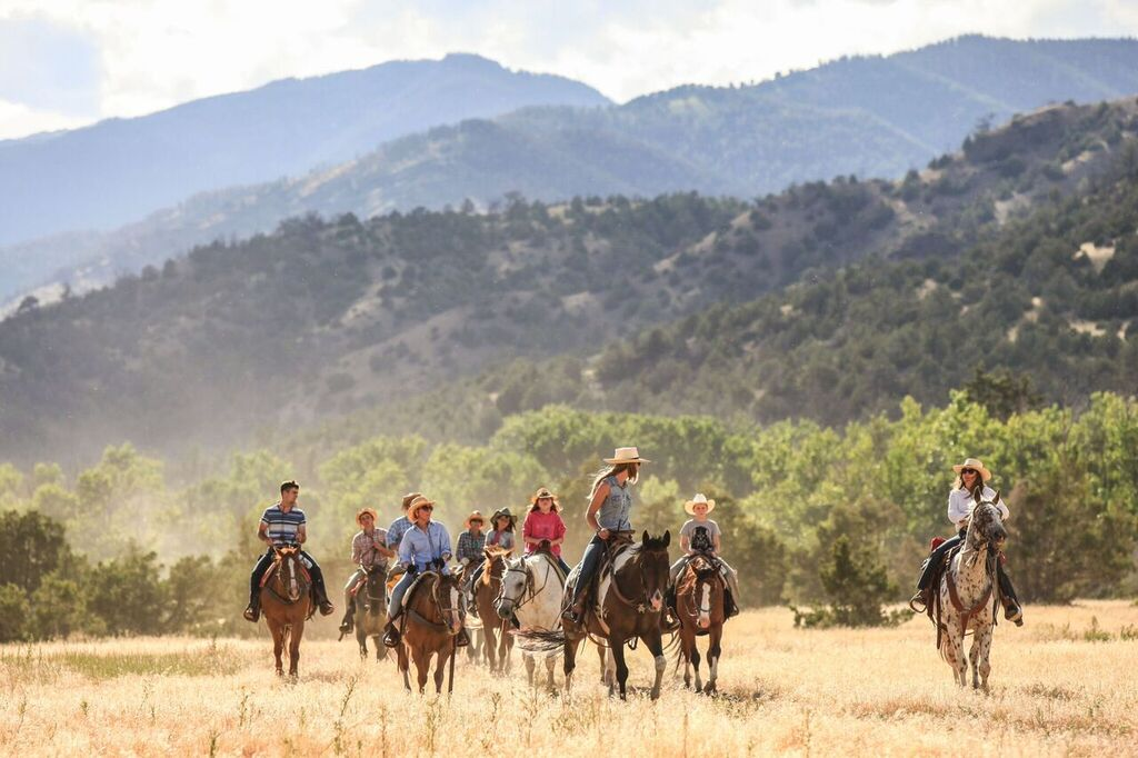 Mountain Sky Guest Ranch Horseback Riding