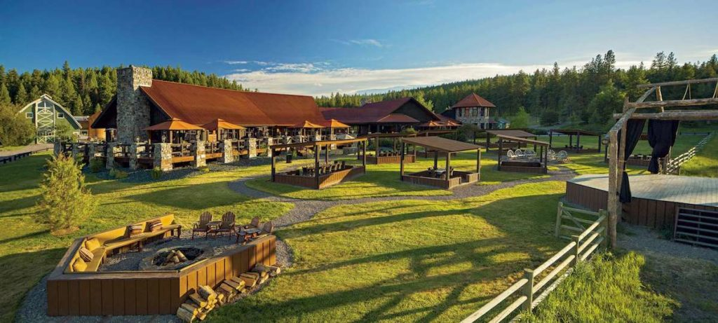 Resort at Paws Up, Front Lawn, Montana
