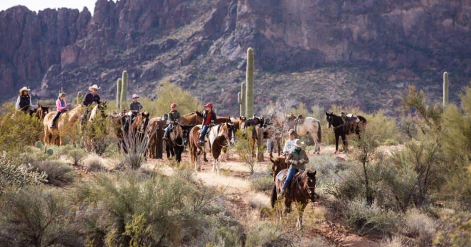 Rancho de los Caballeros Horseback Riding