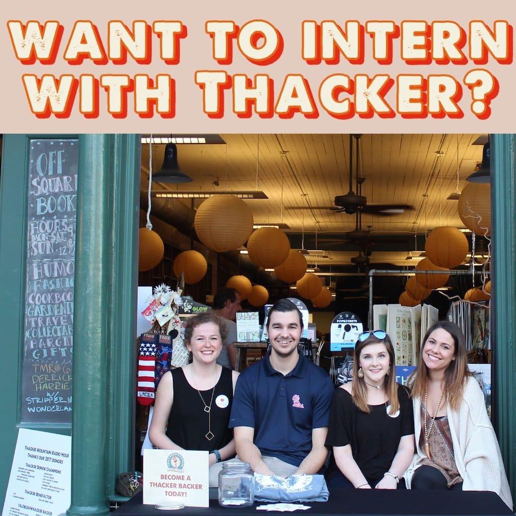 Thacker Mountain Radio - Interns