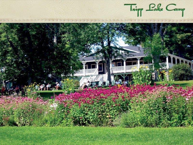 Tripp Lake Camp Maine